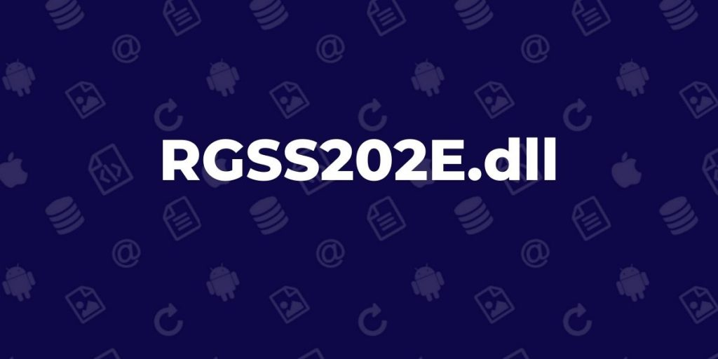 RGSS202E.dll