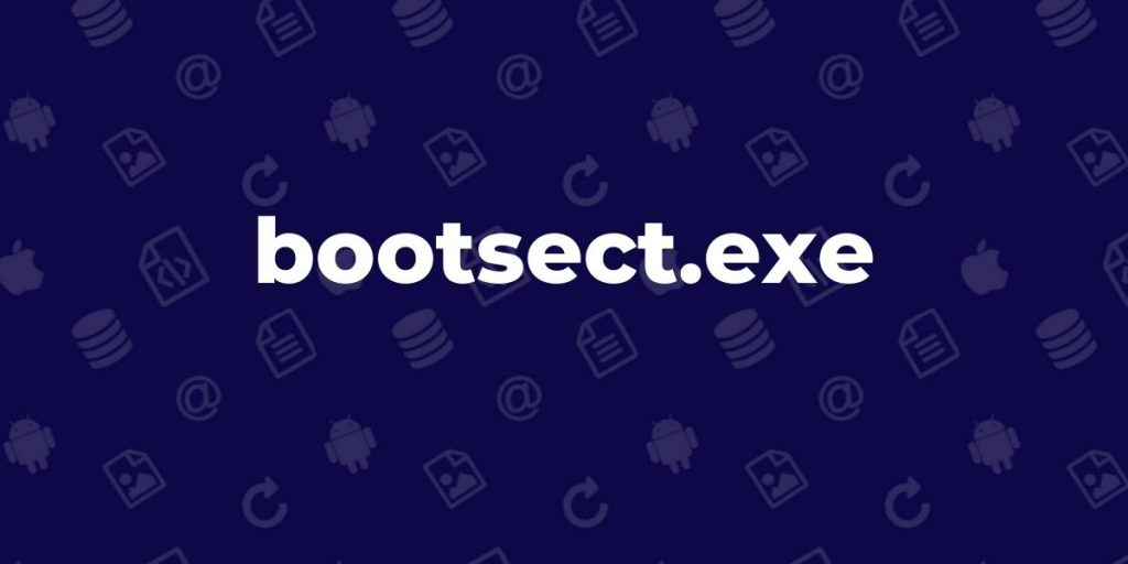 bootsect.exe